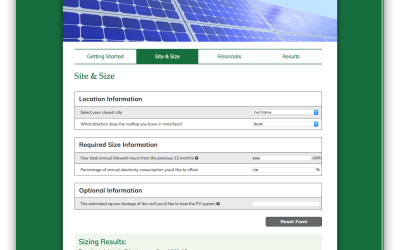 Project Update: CSU Solar Panel Calculator